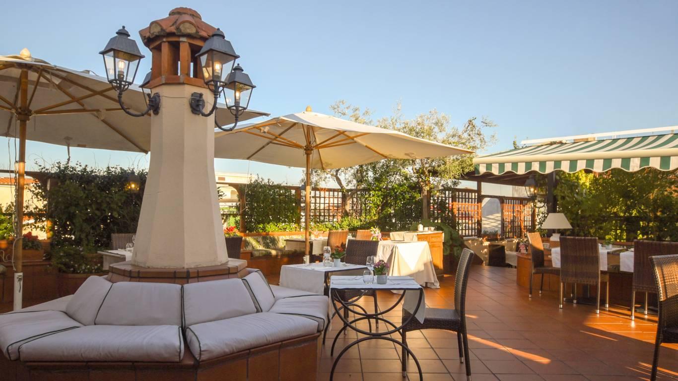 Hotel Diana Roma Roof Garden Sito Ufficiale