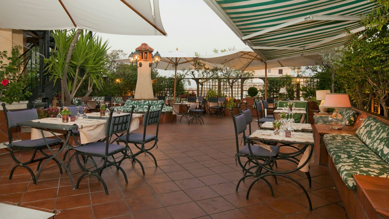 Hotel Diana Rome Roof Garden Official Site